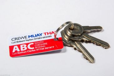 PVC Plastic Key Tags